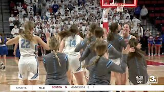 Elkhorn North Girls' Basketball Wins 1st Game at State