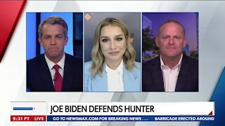 JOE BIDEN DEFENDS HUNTER
