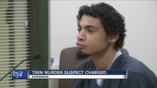Suspect denies killing Kenosha teen - Video