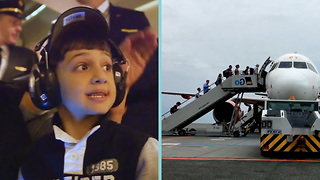Air Hollywood Helps Families and Kids With Autism Build Confidence For Traveling - Video