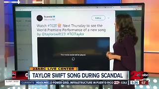 Taylor Swift Debuts New Song During Scandal - Video