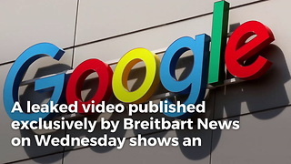 Google Nightmare: Video of Google's Secret Anti-Trump Meeting Leaks, White House Will Explode