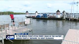 Bemus Point-Stow Ferry needs costly repairs to keep running - Video