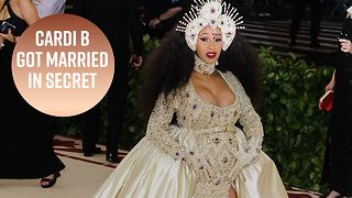 Cardi B hid her marriage for 9 months - Video
