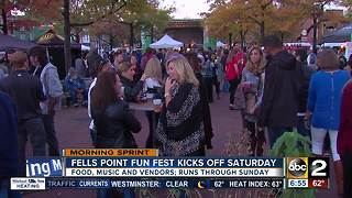 51st annual Fells Point Fun Fest kicks off this weekend - Video