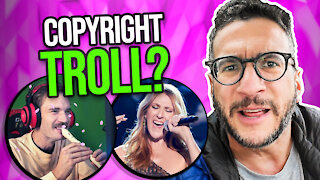 PewDiePie Gets Copyright TROLLED for Celine Dion Song - Lawyer Explains - Viva Frei Vlawg
