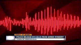 911 call placed before Aldi armed robbery - Video