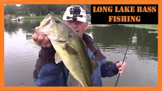 Long Lake Michigan Bass Fishing