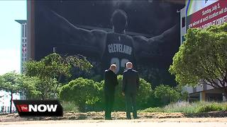 What's going to happen to the LeBron mural?