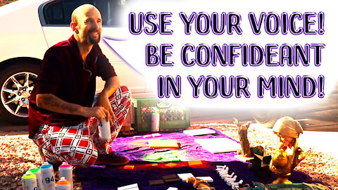 Learn To Use Your Voice & Be Confident In Your Mind!