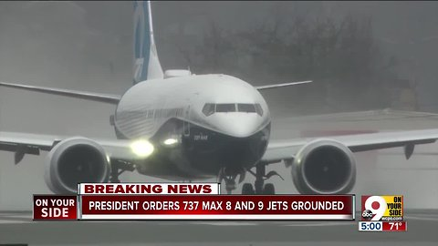 President orders 737 Max 8 and 9 jets grounded