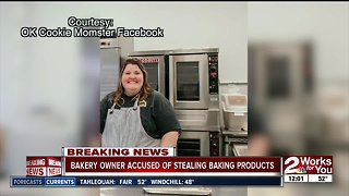 OK Cookie Momster owner arrested, accused stealing baking products