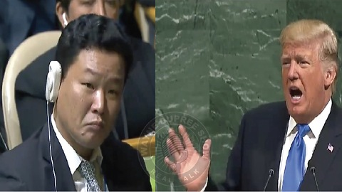 Trump: If Forced To Defend Ourselves, Allies; No Other Choice But To Destroy North Korea
