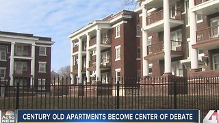 Century-old apartments become center of debate - Video
