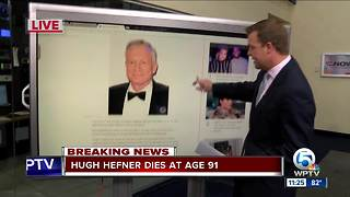 Playboy magazine founder Hugh Hefner dies at 91 - Video