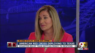 American Red Cross deploying to Texas - Video
