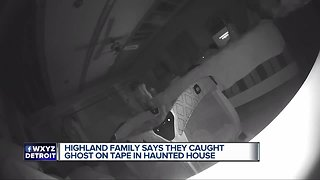 Michigan couple says ghost seen on nanny cam scratched daughter