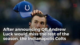 Indianapolis Colts Cut 2-time Pro Bowler - Video