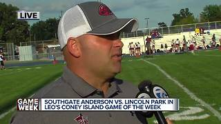Brad Galli with Southgate Anderson at GOTW - Video