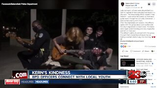 Kern's Kindness - BPD officers connect with local youth
