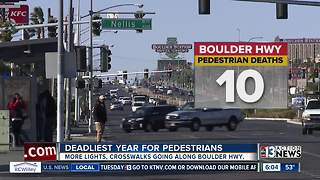 Comparing number of pedestrian deaths on similar roads - Video