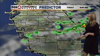 Scattered Showers and Storms this Weekend - Video