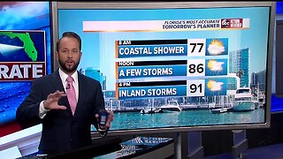 Florida's Most Accurate Forecast with Jason on Sunday, August 4, 2019