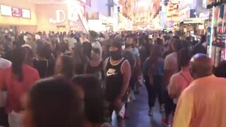 Concerns over large Labor Day weekend crowds in Las Vegas