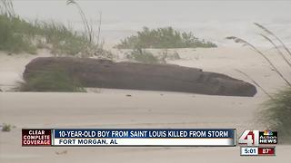 St. Louis boy, 10, killed in Tropical Storm Cindy - Video