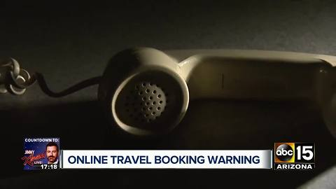 Scams becoming harder to spot with online travel booking
