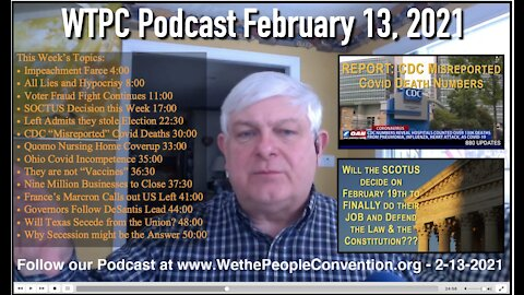 We the People Convention New & Opinion 2-13-21