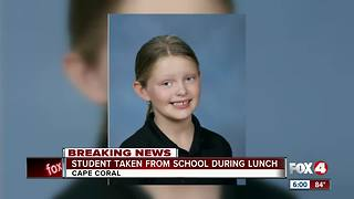 Student Taken From School During Lunch - Video