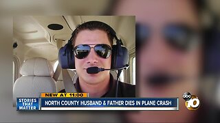 North County husband and father dies in plane crash