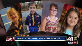 Local girls among first to join cub scouts - Video