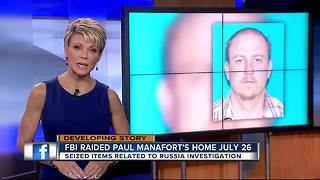 FBI executed search warrant on Paul Manafort's home in Russia probe - Video