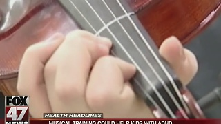 Musical training could help kids with ADHD - Video