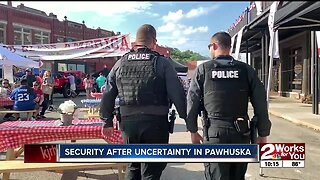 Security after uncertainty in Pawhuska