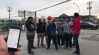 Man breaks own world record for longest time spinning a basketball on a toothbrush