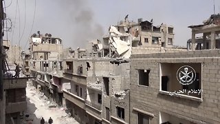 The Syrian Government Has Regained Control Of Its Capital City - Video