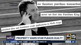Property Wars star pleads guilty - Video