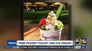Free frozen yogurt and ice cream with this deal! - Video