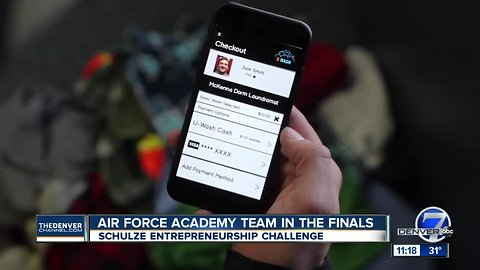 Air Force Academy Team in the finals for Schulze Entrepreneurship Challenge