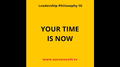 Your Time Is Now. Begin. Your Brighter Future Today