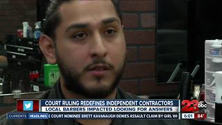 California independent contractors future's uncertain after court ruling