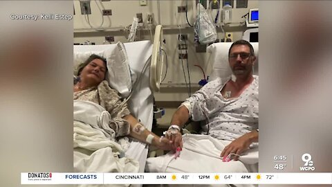 Husband gives wife half of his liver