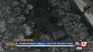 Madeira Beach homeowners are finally getting roads fixed