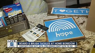 Board & Brush offering take home d.i.y. kits