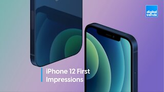 iPhone 12 First Impressions: Pro, Max and Mini!