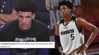 DeMarcus Cousins Says Lonzo Ball is SCARED of De'Aaron Fox - Video