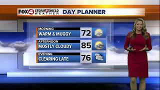 FORECAST: Cold Front Brings Chance of Rain Today